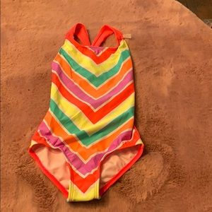 NWT Circo XS Swimsuit Girls 4-5. Bright and cute.